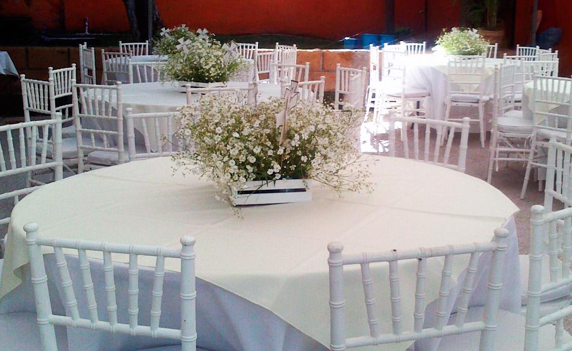 Renta de mesasy sillas en cuernavaca - Mantel para mesa exterior ...